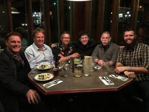 Dinner Gathering after hypnosis school